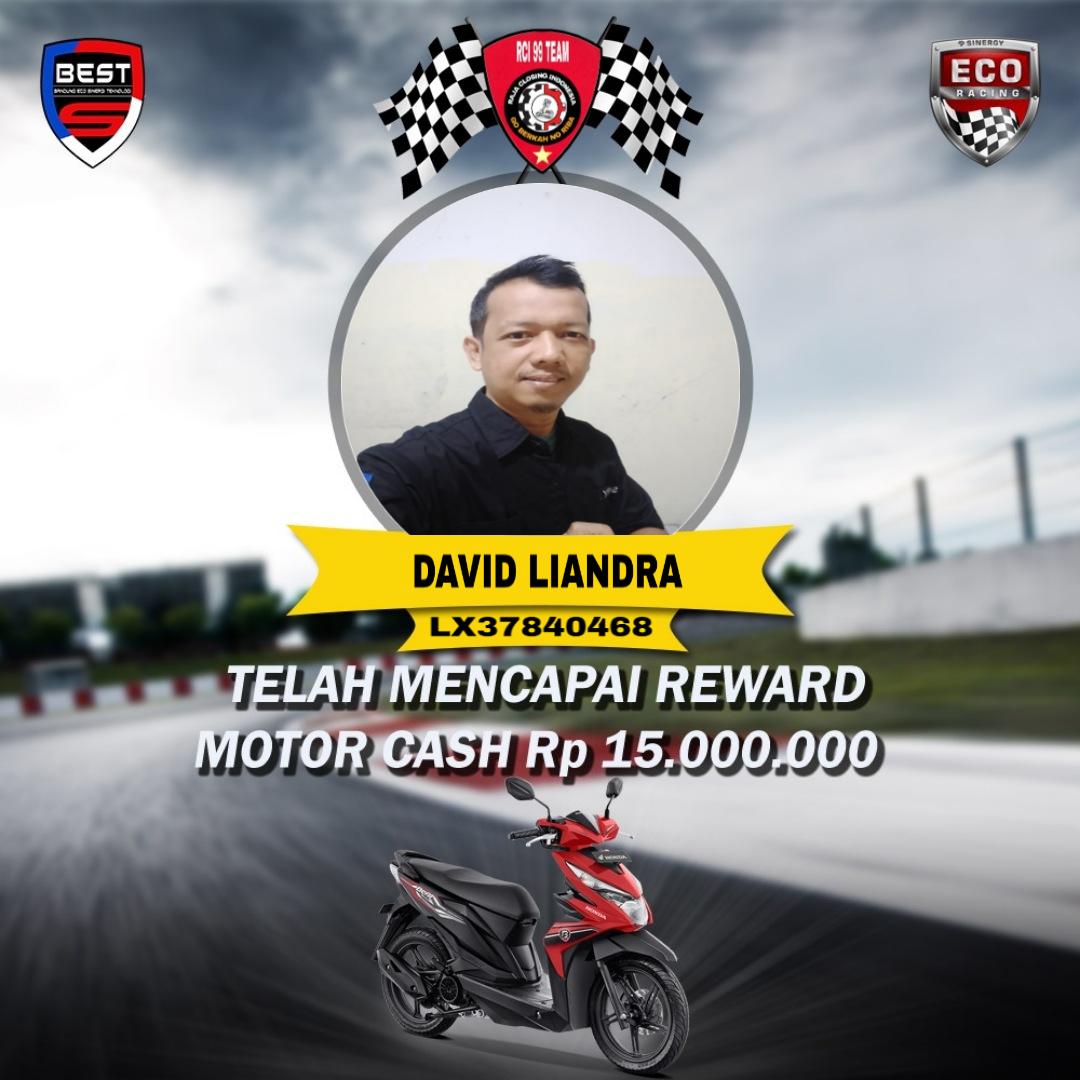 Pedagang Plastik dari Padang Dapat Reward Motor di Bisnis Eco Racing